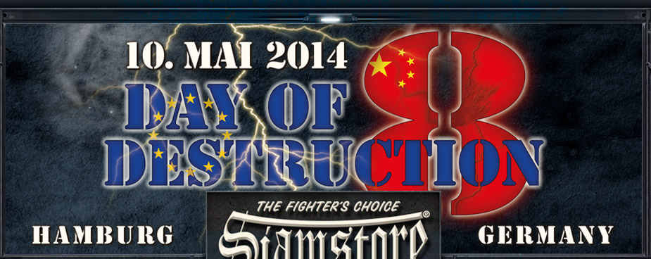 Day of Destruction 8 10ter Mai 2014